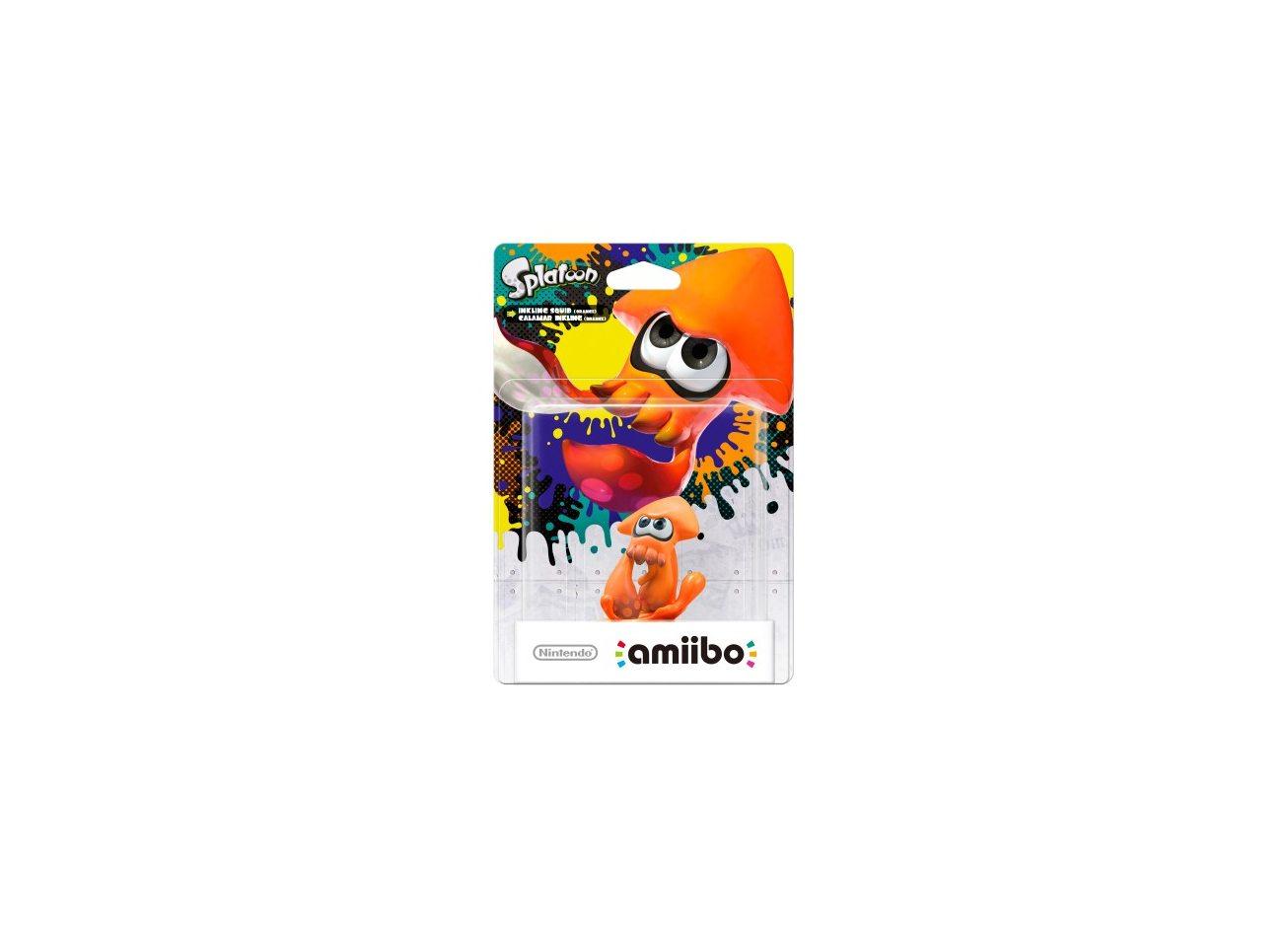 Инклинг-кальмар (оранжевый)