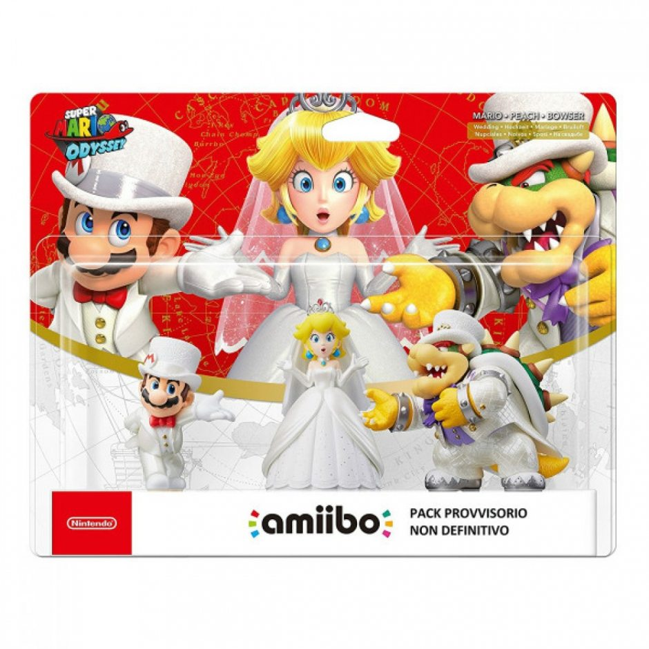 Набор Марио, Пич, Боузер (свадьба)