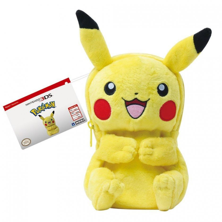 Плюшевый чехол для Nintendo 3DS «Пикачу»
