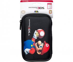 Чехол для Nintendo 3DS XL Марио Гриб (черный)