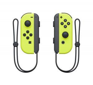 Набор 2 Контроллеры Joy-Con (неоновые желтые)