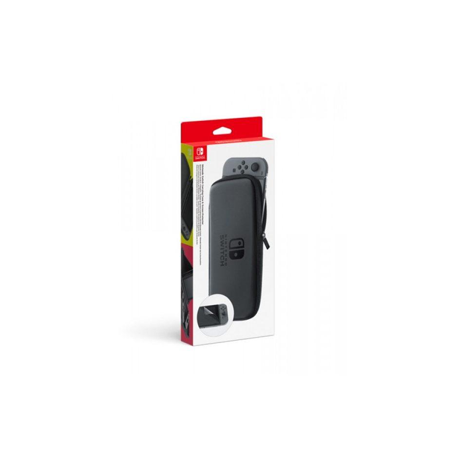 Чехол и защитная плёнка для Nintendo Switch