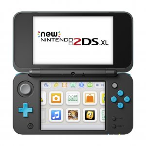 New Nintendo 2DS XL (черный и бирюзовый), Super Mario 3D Land