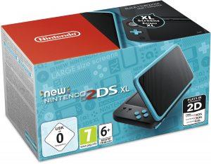 New Nintendo 2DS XL (черный и бирюзовый)
