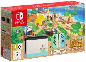 Игровая консоль Nintendo Switch (Издание Animal Crossing) и игра Animal Crossing: New Horizons