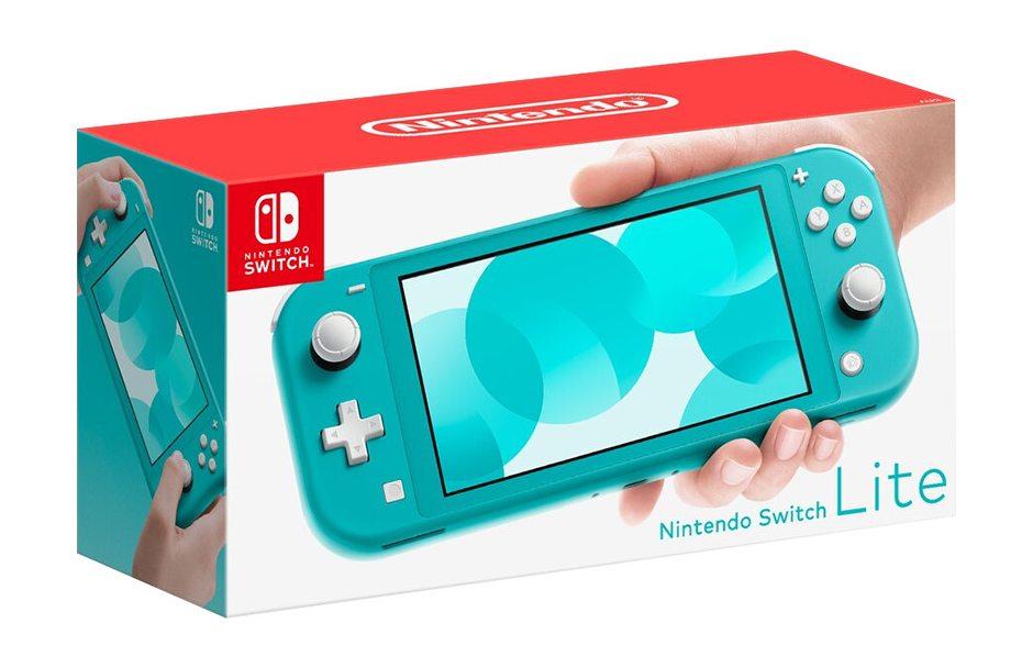 Игровая консоль Nintendo Switch Lite (бирюзовый)
