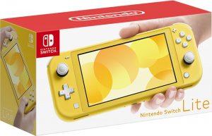 Игровая консоль Nintendo Switch Lite (желтый)