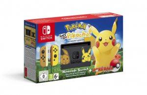 Nintendo Switch Pikachu and Eevee Edition