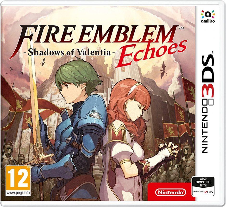 Nintendo Fire Emblem Echoes: Shadows of Valentia Nintendo