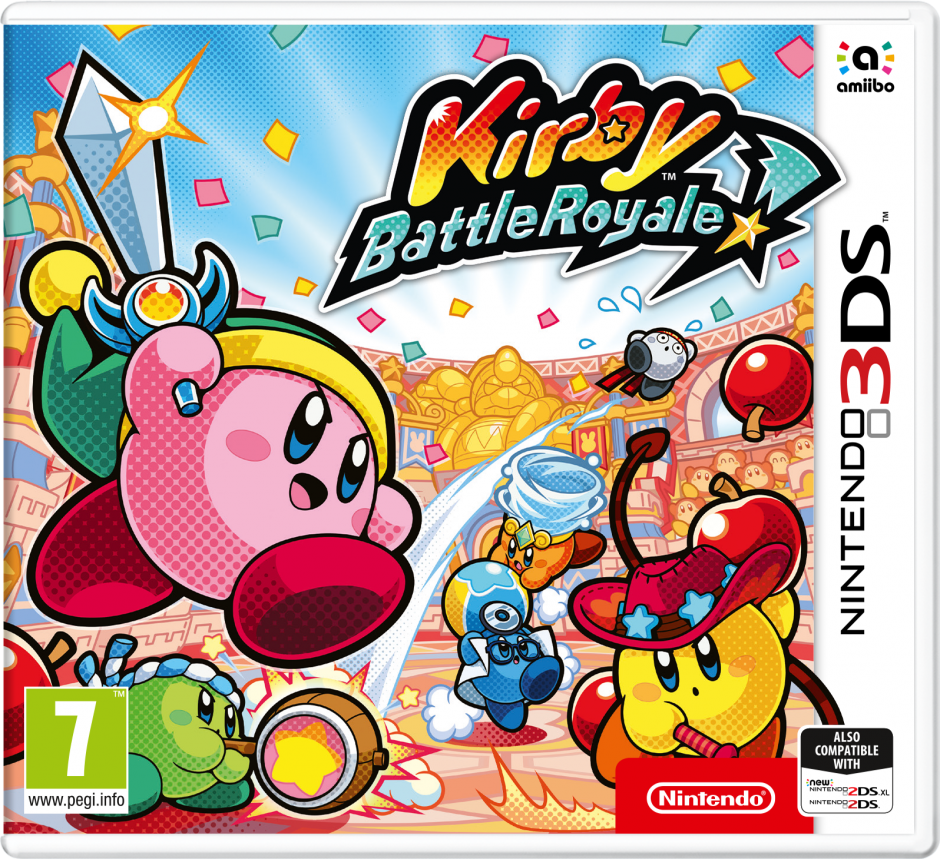 Nintendo Kirby Battle Royale Nintendo