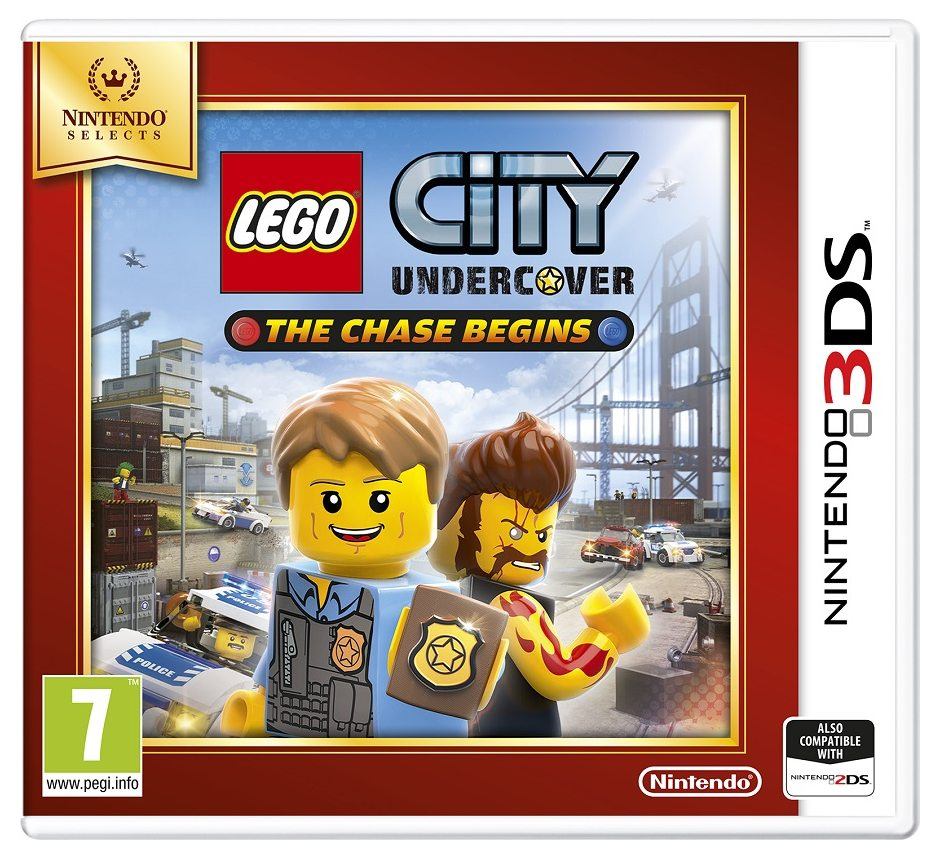 Nintendo LEGO City Undercover: The Chase Begins Nintendo