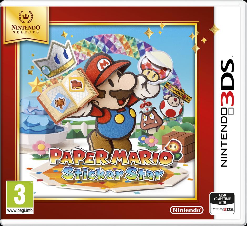 Nintendo Paper Mario: Sticker Star (Selects) Nintendo