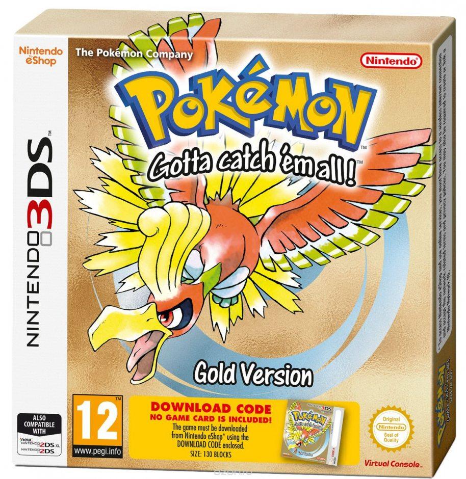 Nintendo Pokemon Gold Version Nintendo