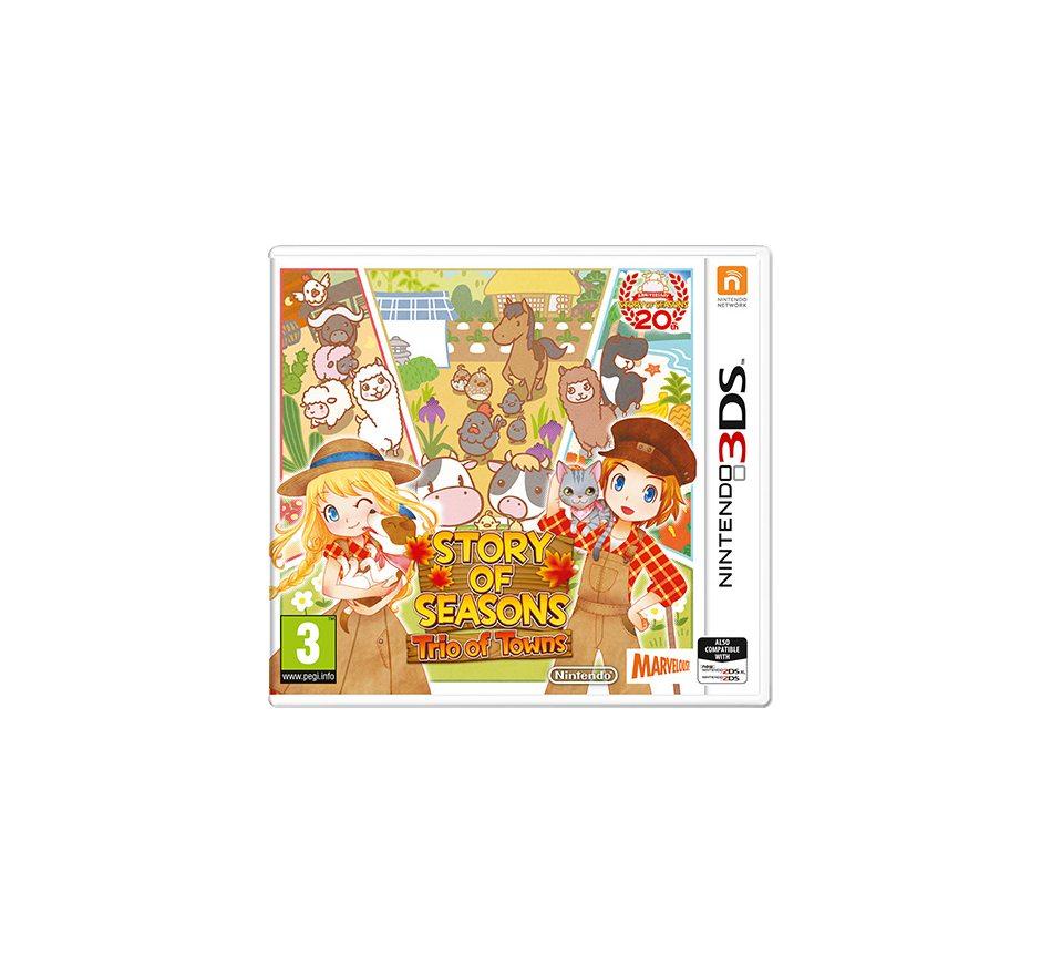 Nintendo Story of Seasons: Trio of Towns Nintendo