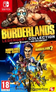 Nintendo Borderlands Legendary Collection