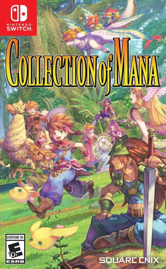 Nintendo Collection of mana Nintendo