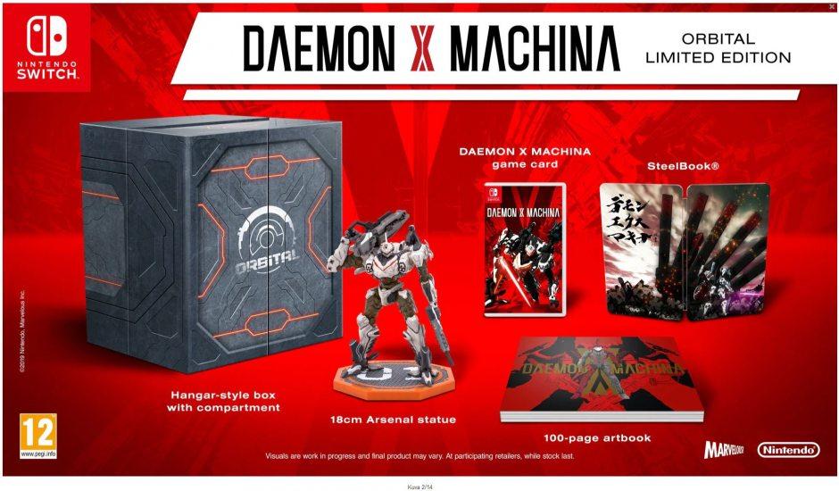 Nintendo Daemon X Machina Orbital Limited Edition Nintendo