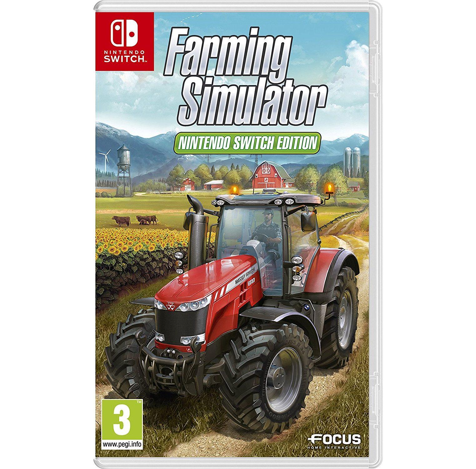 Nintendo Farming Simulator Nintendo
