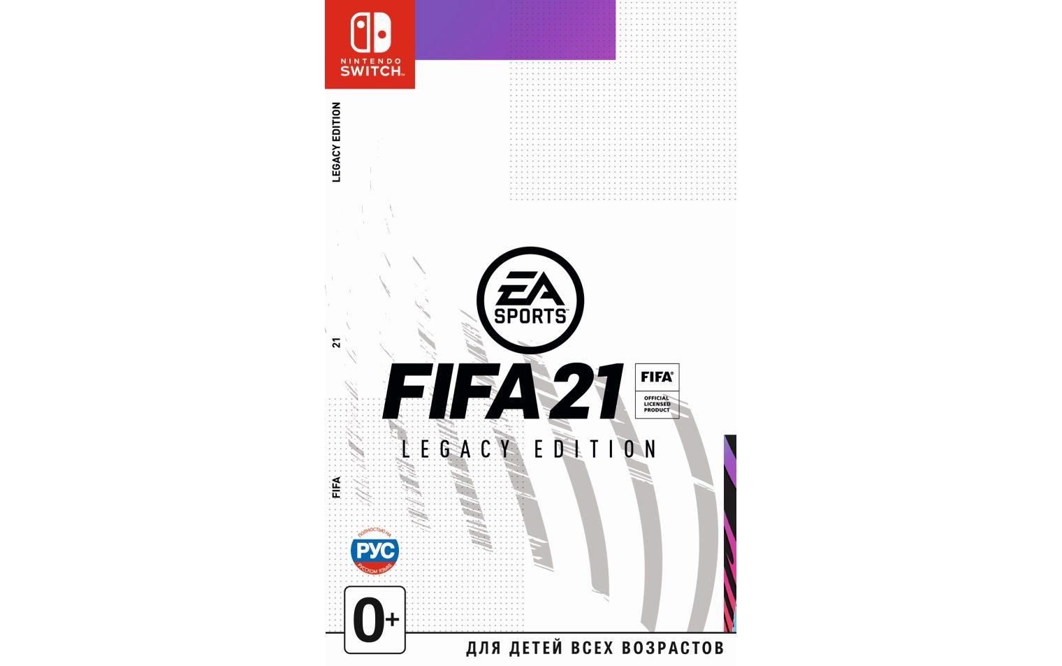 Nintendo FIFA 21 Legacy Edition Nintendo
