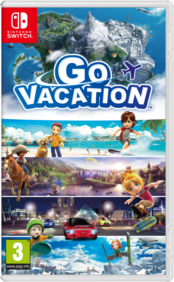 Nintendo Go Vacation Nintendo