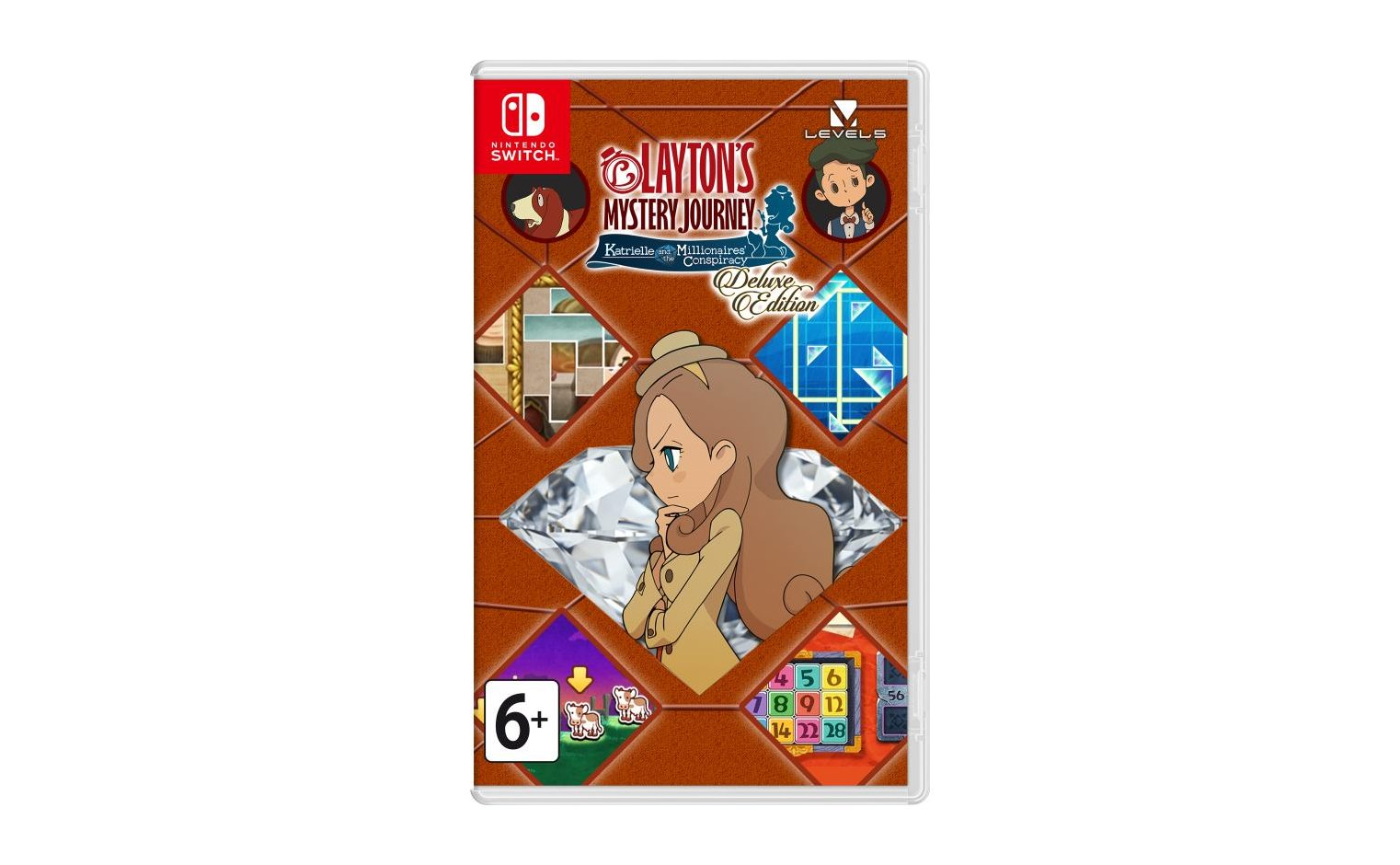 Nintendo Layton's Mystery Journey: Katrielle and the Millionaires' Conspiracy - Deluxe Edition Nintendo