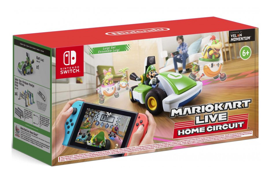 Nintendo Mario Kart Live Home Circuit Набор Luigi Nintendo