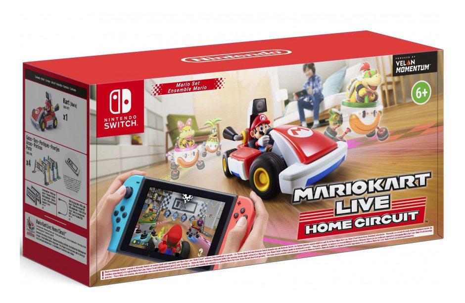 Nintendo Mario Kart Live Home Circuit Набор Mario Nintendo