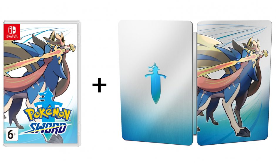 Nintendo Pokemon Sword Day-1 Edition Nintendo