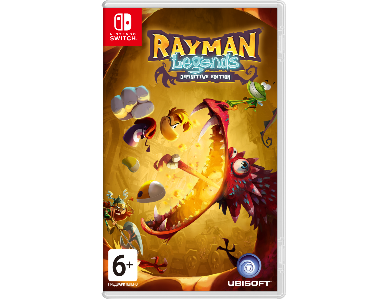 Nintendo Rayman Legends: Definitive Edition Nintendo