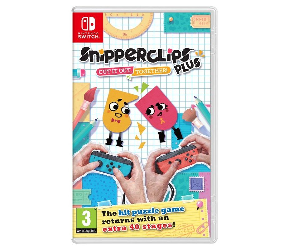 Nintendo Snipperclips Plus: Cut it out, together! Nintendo