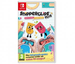 Nintendo Snipperclips Plus: Cut it out, together!