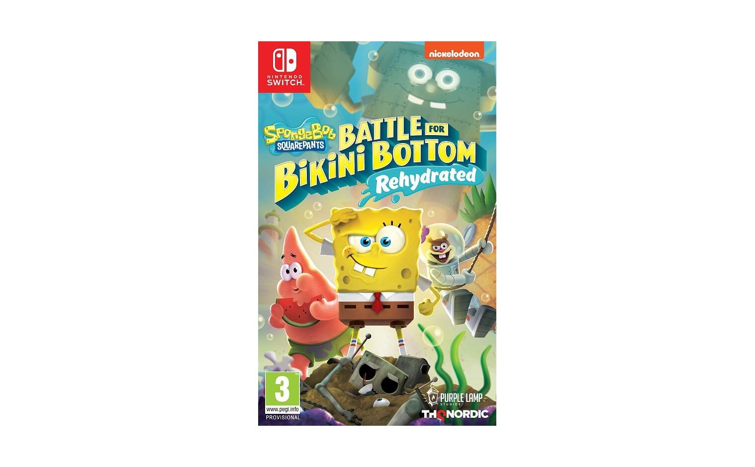 Nintendo SpongeBob SquarePants: Battle For Bikini Bottom -Rehydrated Nintendo