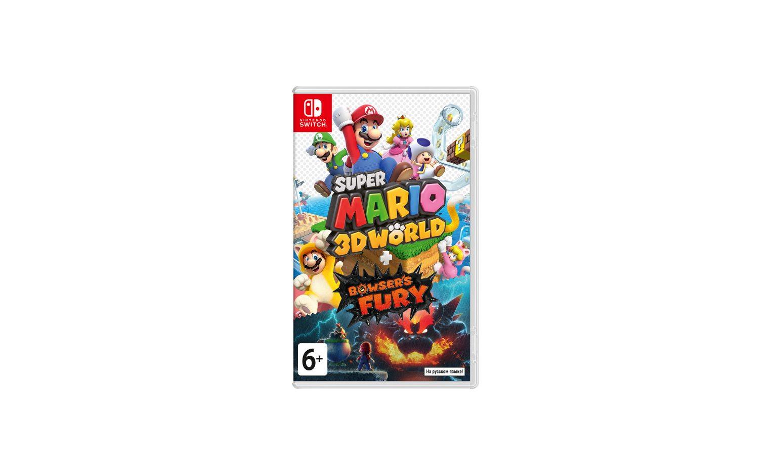 Nintendo Super Mario 3D World Bowser's Fury Nintendo