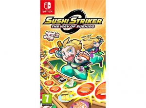 Nintendo Sushi Striker. The Way of Sushido
