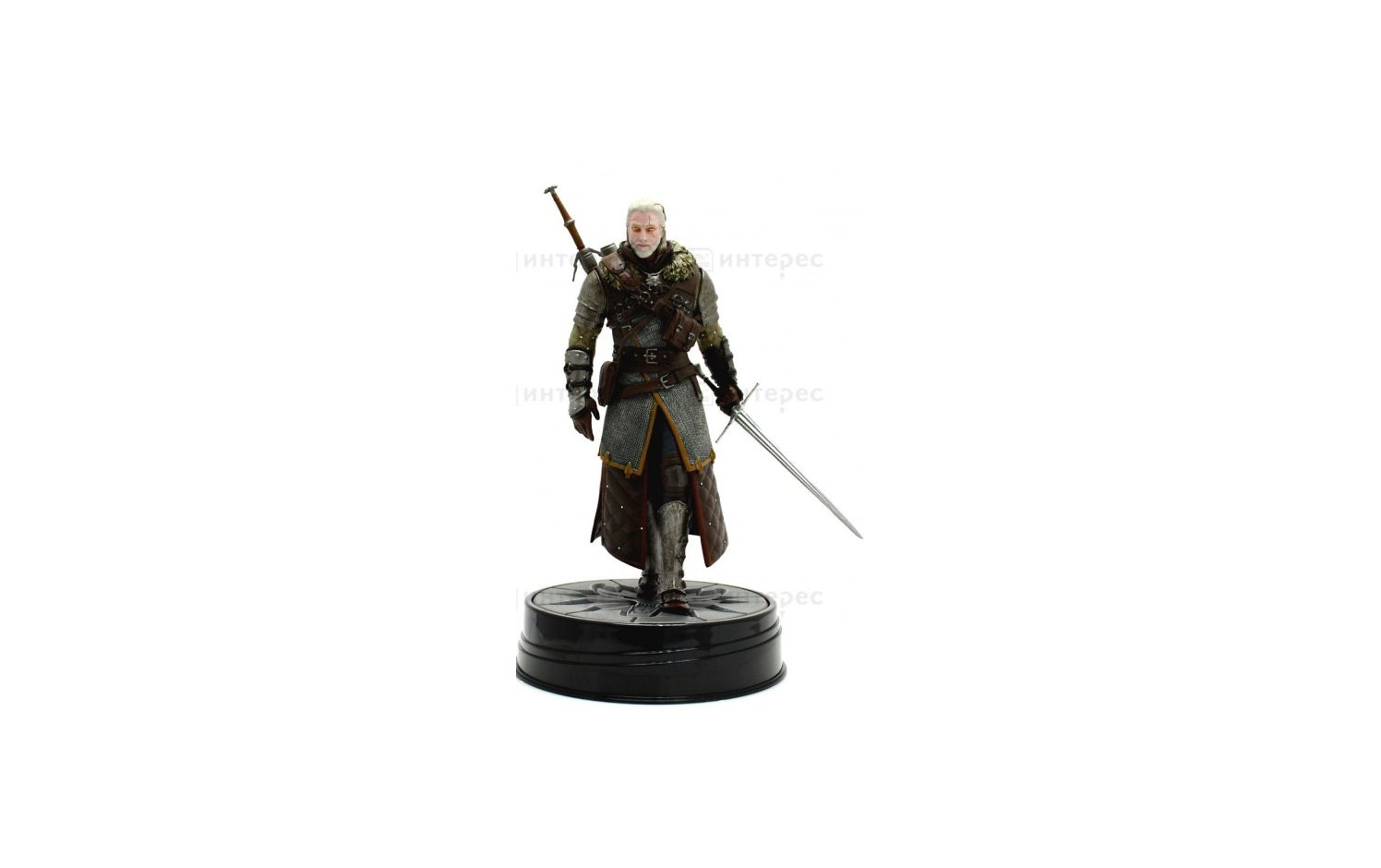 Фигурка The Witcher 3: Wild Hunt Geralt Grandmaster Ursine 24 см