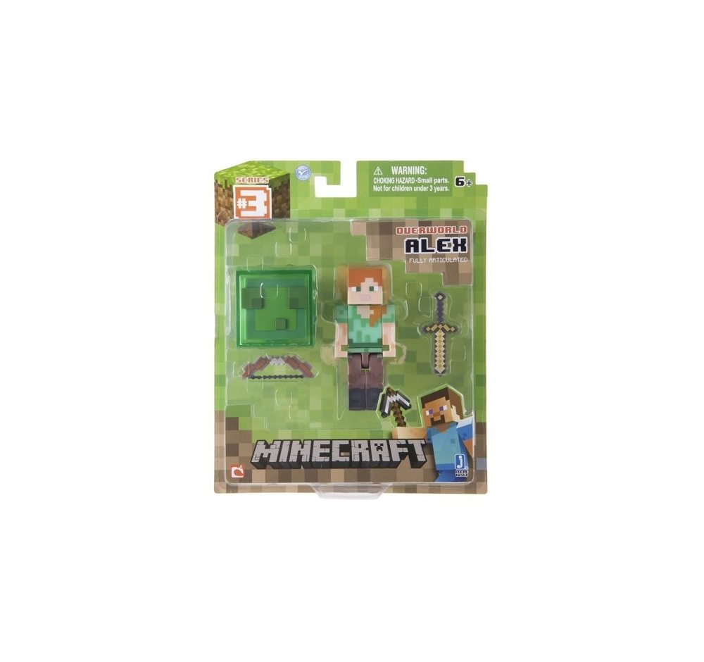 Фигурка Minecraft. Alex With Sword And Bow 8 см