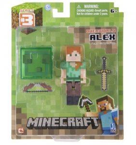 Фигурка Minecraft. Alex With Sword And Bow 8 см