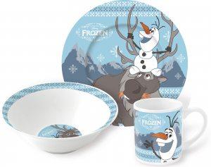Набор керамической посуды Frozen