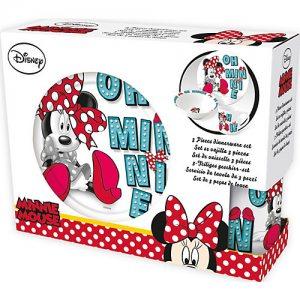 Набор керамической посуды Minnie Mouse