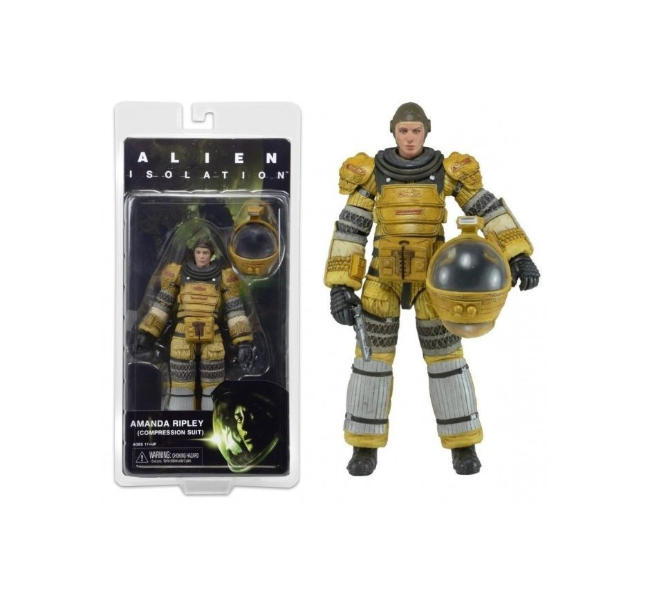 Aliens. Series 6. Amanda Ripley Torrens Spacesuit 17 см