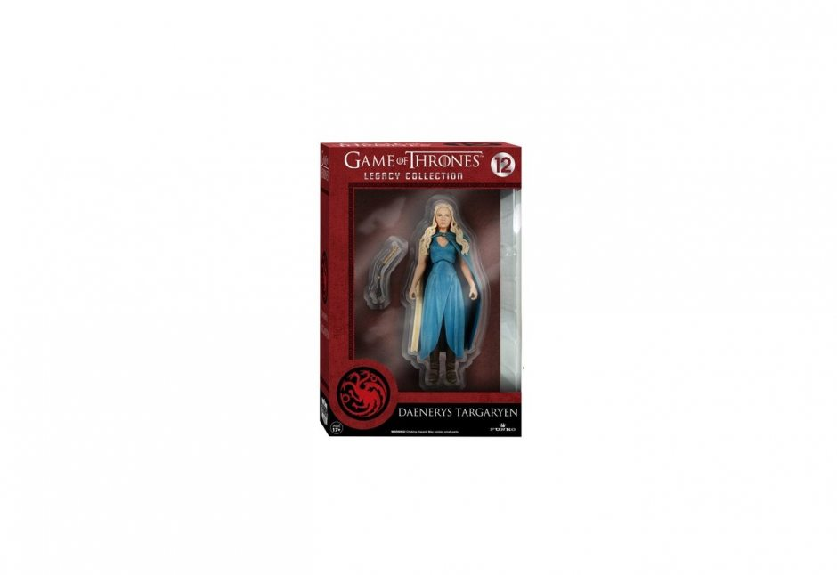 Game of Thrones. Daenerys Targaryen in Blue Dress 16 см