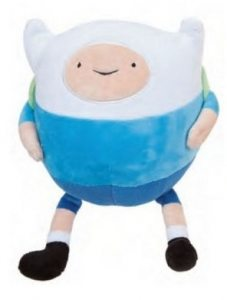 Мягкая игрушка Adventure Time. Шарик Finn 18 см