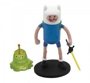 Набор фигурок Adventure Time 2 в 1. Finn with Slimeprinces 6 см