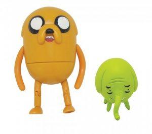 Набор фигурок Adventure Time 2 в 1. Jake with Treetrunks 6 см