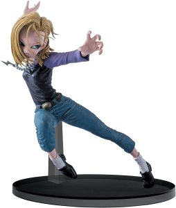 Dragon Ball Super Android 18 Figure, SCultures Big Budoukai 6, Volume 3
