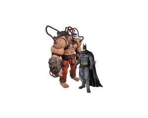Набор фигурок Batman Arkham City. Batman Vs Bane. 2 в 1 25 см