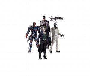 Набор фигурок Batman Arkham Origins. 4 в 1 17 см