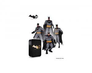 Набор фигурок Batman. 75th Anniversary V2. 4 в 1 17 см