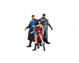 Набор фигурок DC Comics: Batman, Wonder Woman, Superman (3 в 1) 17 см
