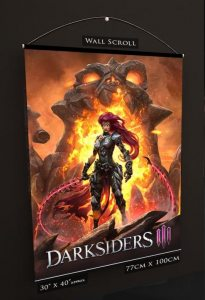 Darksiders III Постер на тканевой основе